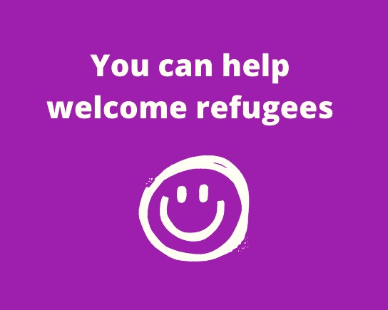 You can help welcome Afghan refugees